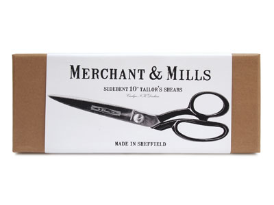 "MERCHANT & MILLS TAILOR'S SHEARS 10"""