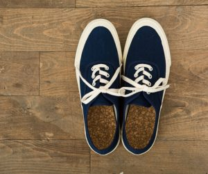 DOEK SHOE INDUSTRIES OXFORD NAVY