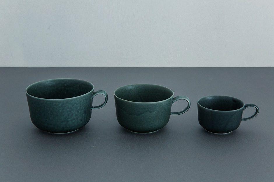 yumiko iihoshi porcelain ReIRABO カップ winter night gray