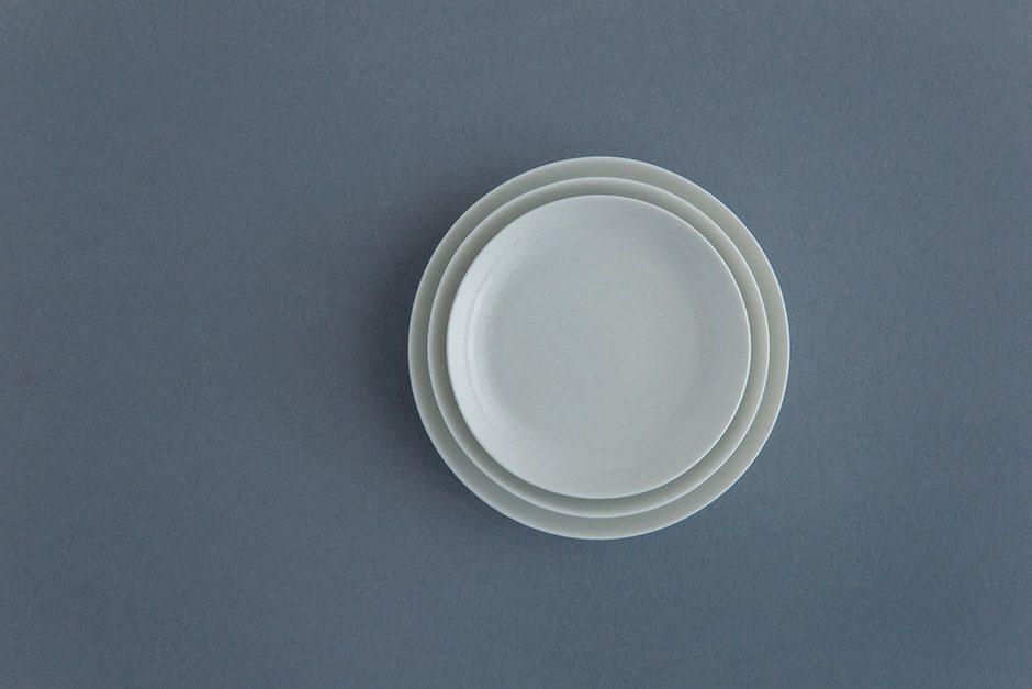 yumiko iihoshi porcelain ReIRABO ラウンドプレート(S)(M)(L)quiet white