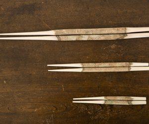 木の取り箸