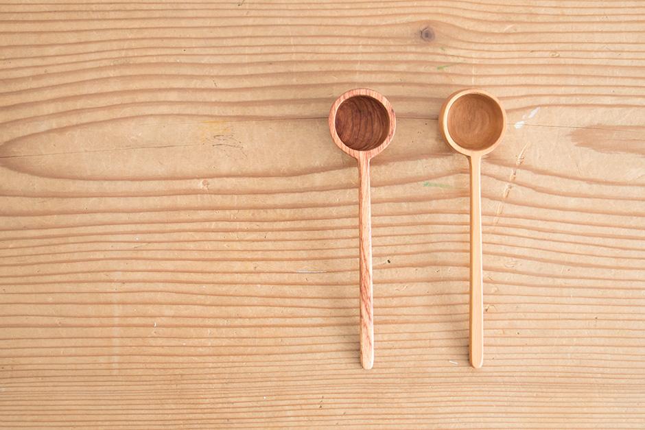 木のコーヒーメジャー(松/花梨)