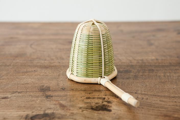 竹の茶こし