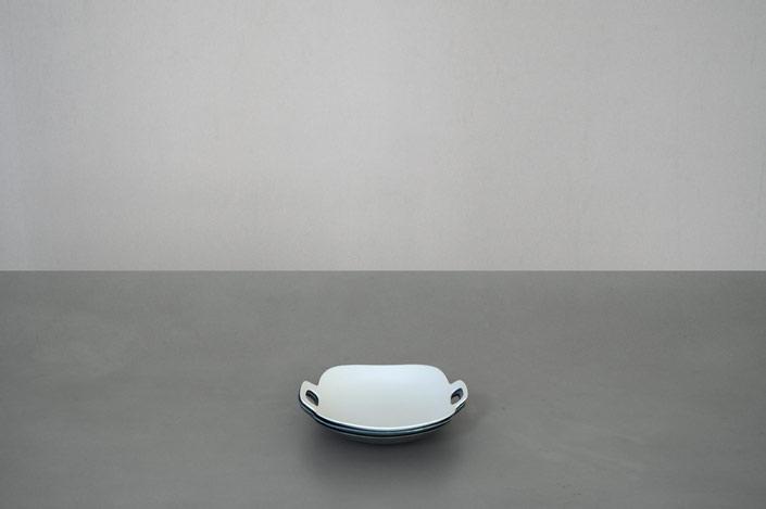 "yumiko iihoshi porcelain""bon voyage""プレート(M) white"