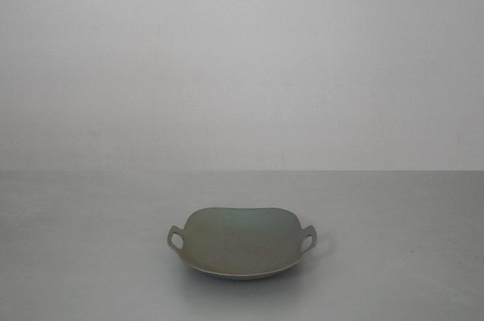 """yumiko iihoshi porcelain """"bon voyage"""" プレート green"""