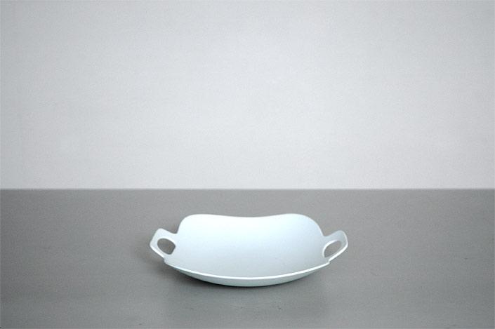 "yumiko iihoshi porcelain""bon voyage""プレート(L) white"