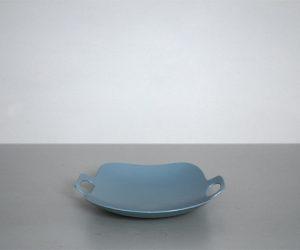 "yumiko iihoshi porcelain""bon voyage""プレート(L) gray"