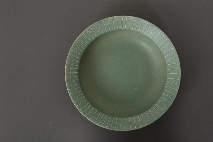 """yumiko iihoshi porcelain""""Fuyu no hi""""(L) light green"""