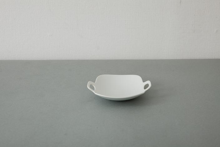 "yumiko iihoshi porcelain ""bon voyage"" プレート(S)white"