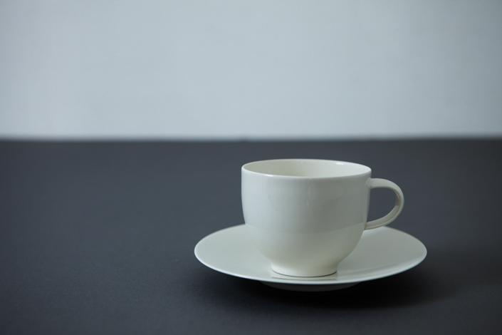 yumiko iihoshi porcelain OXYMORON II coffee cup ivory