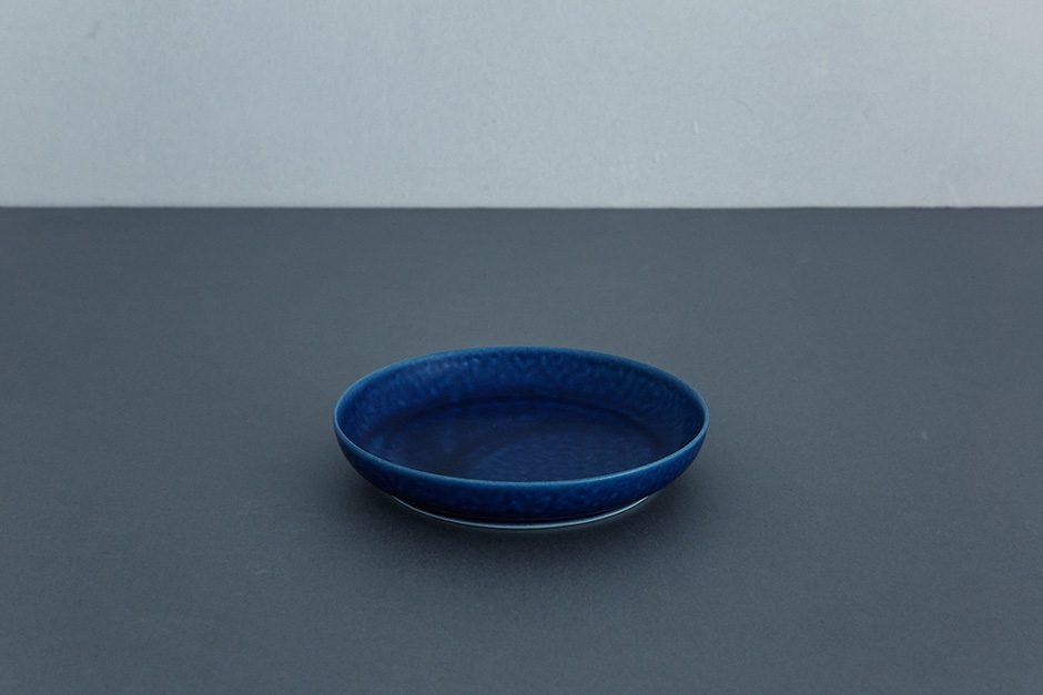 yumiko iihoshi porcelain ReIRABO ラウンドプレート(S)(M)(L)off shore blue