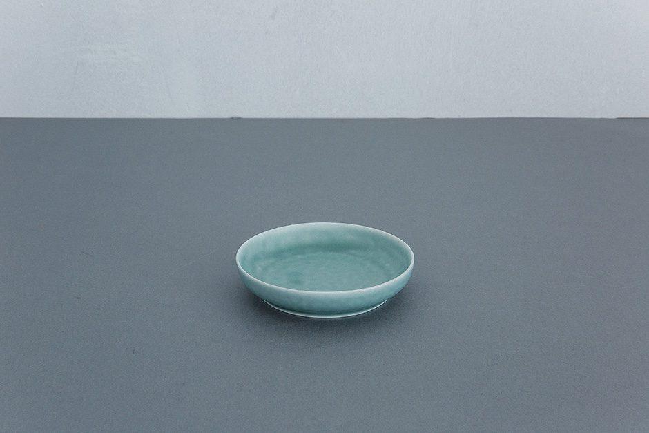 yumiko iihoshi porcelain ReIRABO ラウンドプレート(S)(M)(L)spring mint green