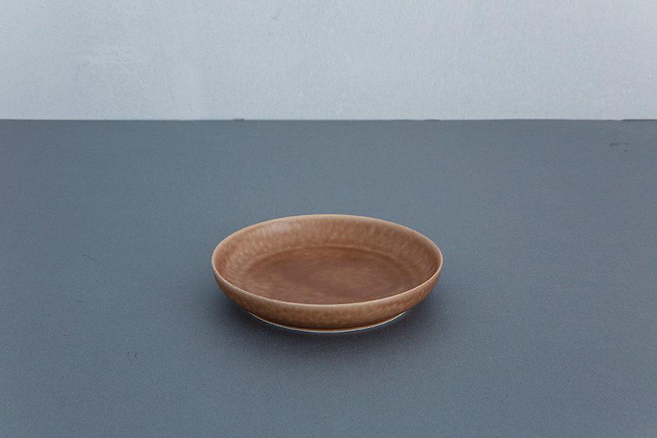 yumiko iihoshi porcelain ReIRABO ラウンドプレート(S)(M)(L)warm soil brown