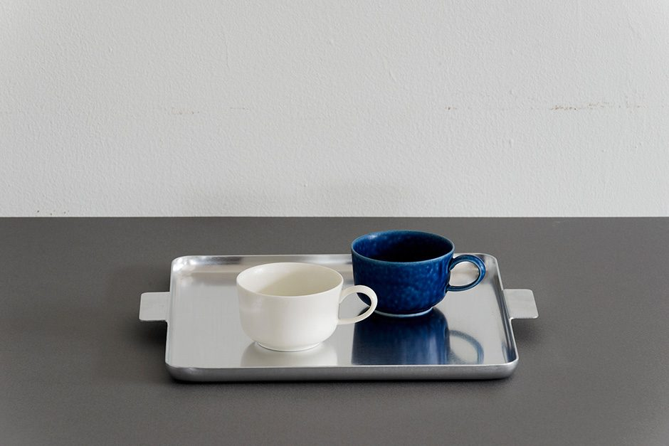 yumiko iihoshi porcelain アルミトレー スクエア