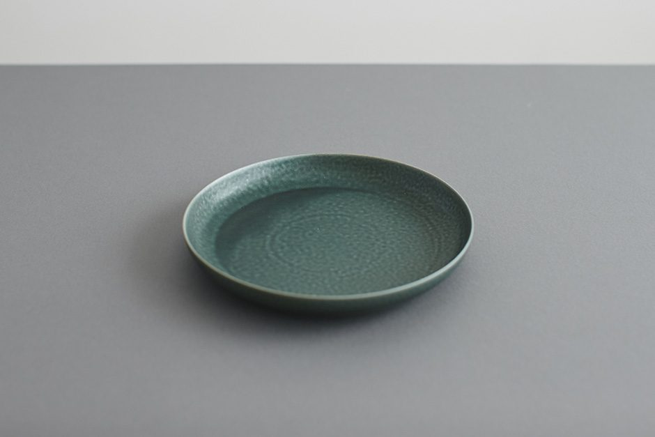 yumiko iihoshi porcelain ReIRABO ラウンドプレート winter night gray