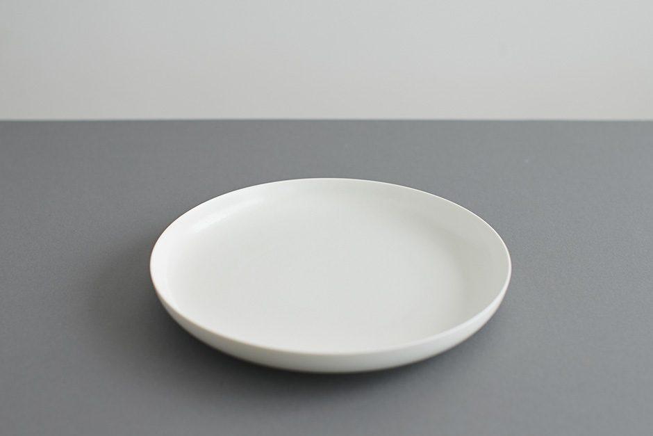 yumiko iihoshi porcelain ReIRABO ラウンドプレート quiet white