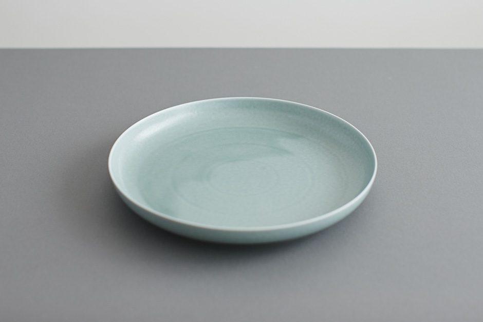 yumiko iihoshi porcelain ReIRABO ラウンドプレート spring mint green