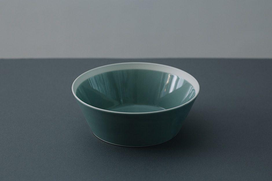yumiko iihoshi porcelain dishes bowl pistachio green