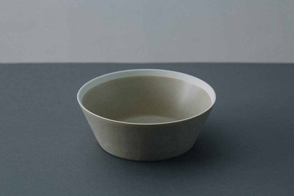 yumiko iihoshi porcelain dishes bowl sand beige / matte