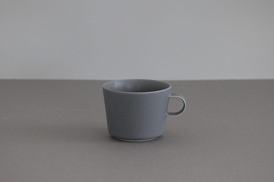"yumiko iihoshi porcelain ""unjour"" カップ rainy gray"
