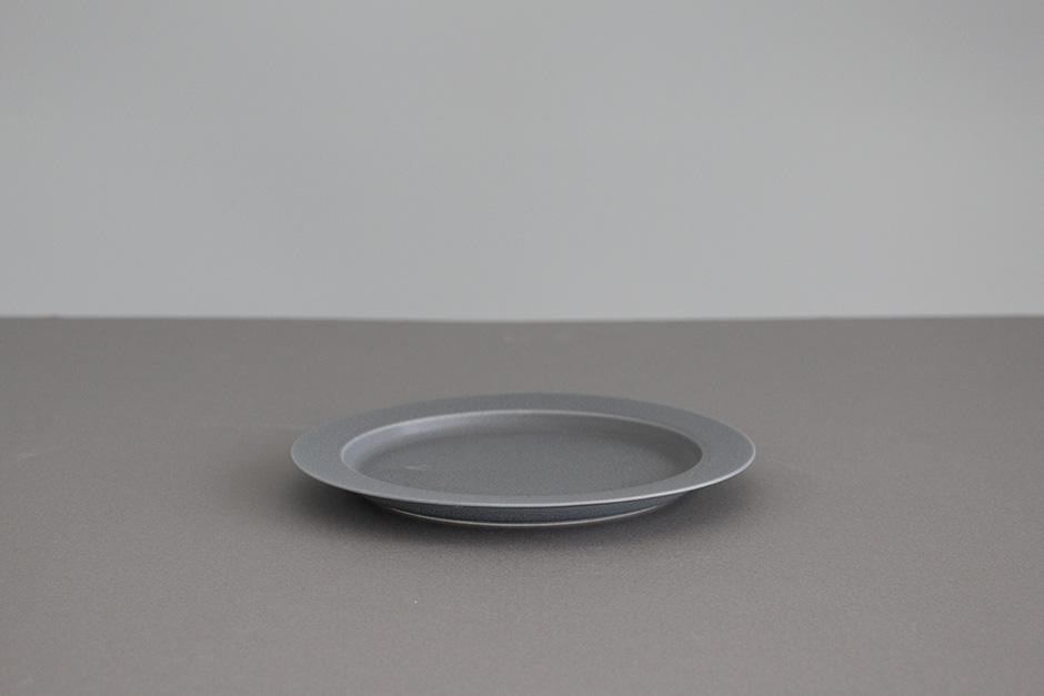 "yumiko iihoshi porcelain ""unjour"" プレート rainy gray"