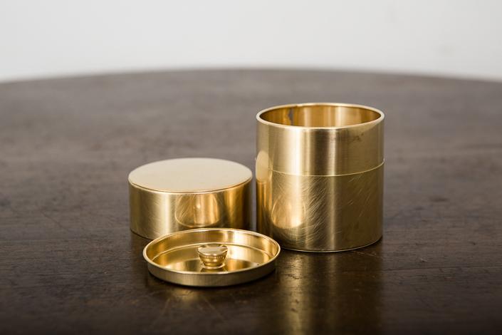 SyuRo 丸缶(真鍮)