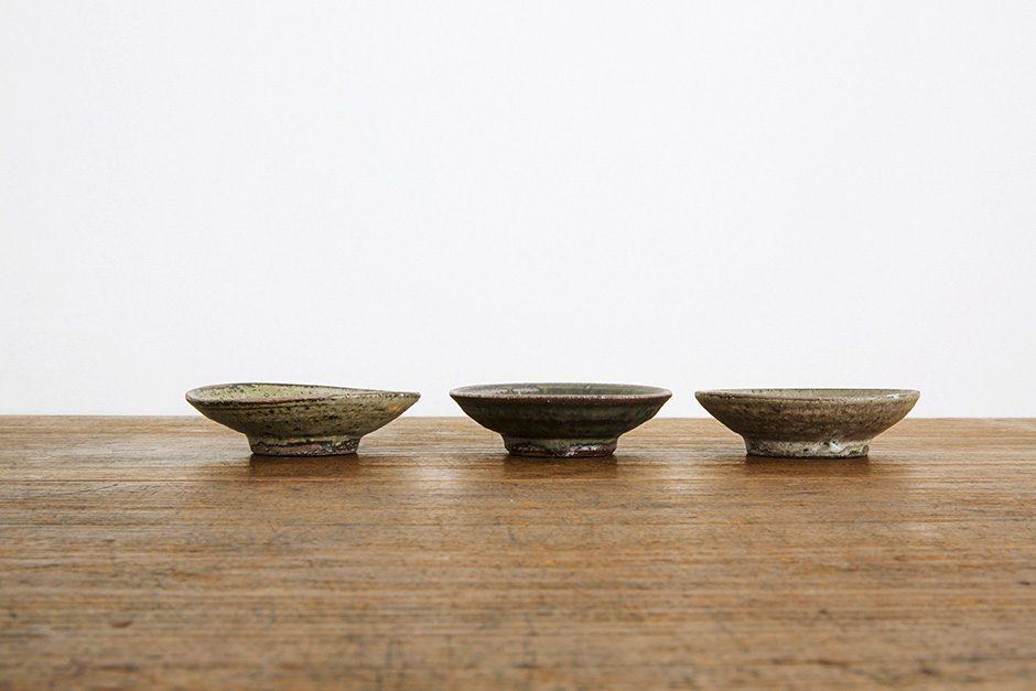 広川絵麻 豆皿 黒