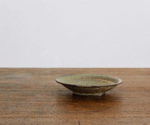 広川絵麻 5寸リム皿 黒