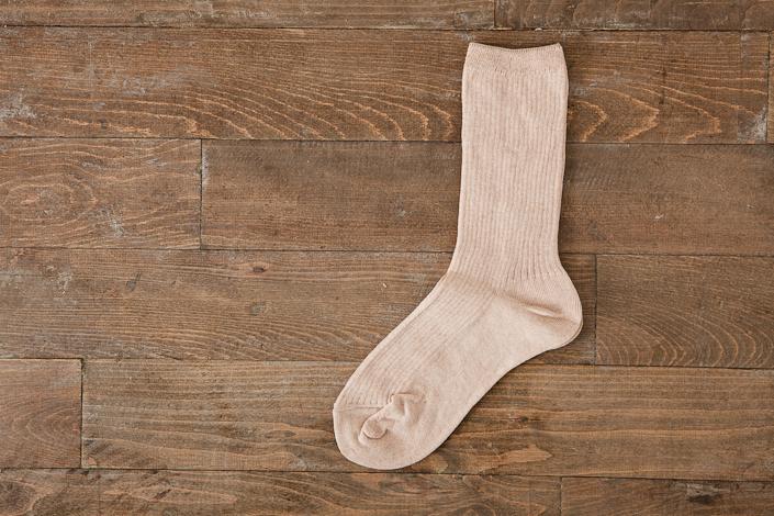 うさぎの会 オーガニックコットン中ばき靴下