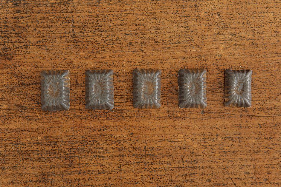加藤かずみ 箸置き 長方形 ブラック
