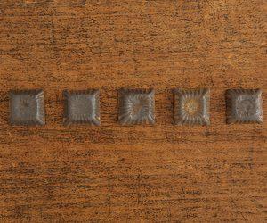加藤かずみ 箸置き 正方形 ブラック