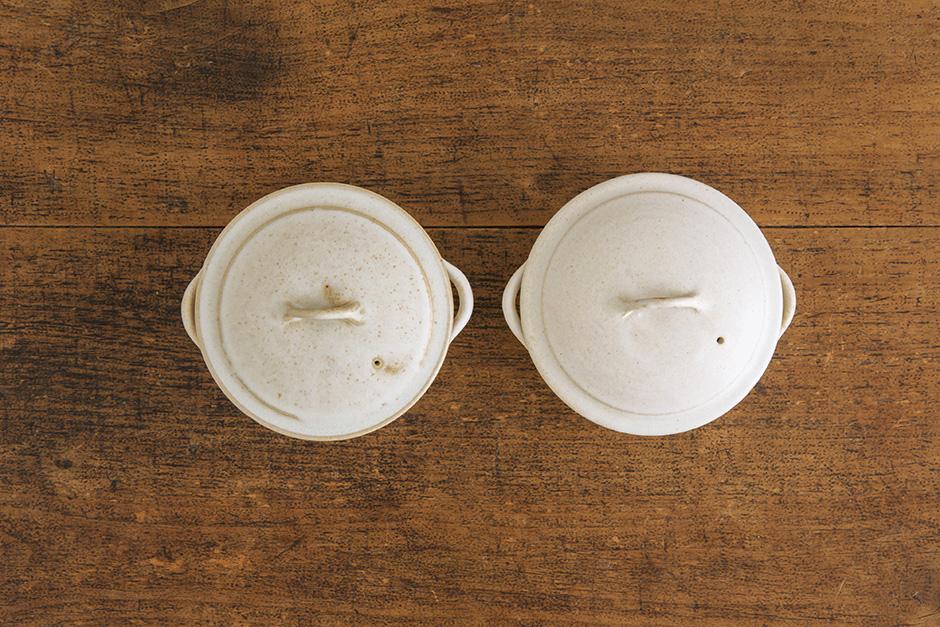 加藤かずみ 耐熱グラタン皿 蓋つき ホワイト