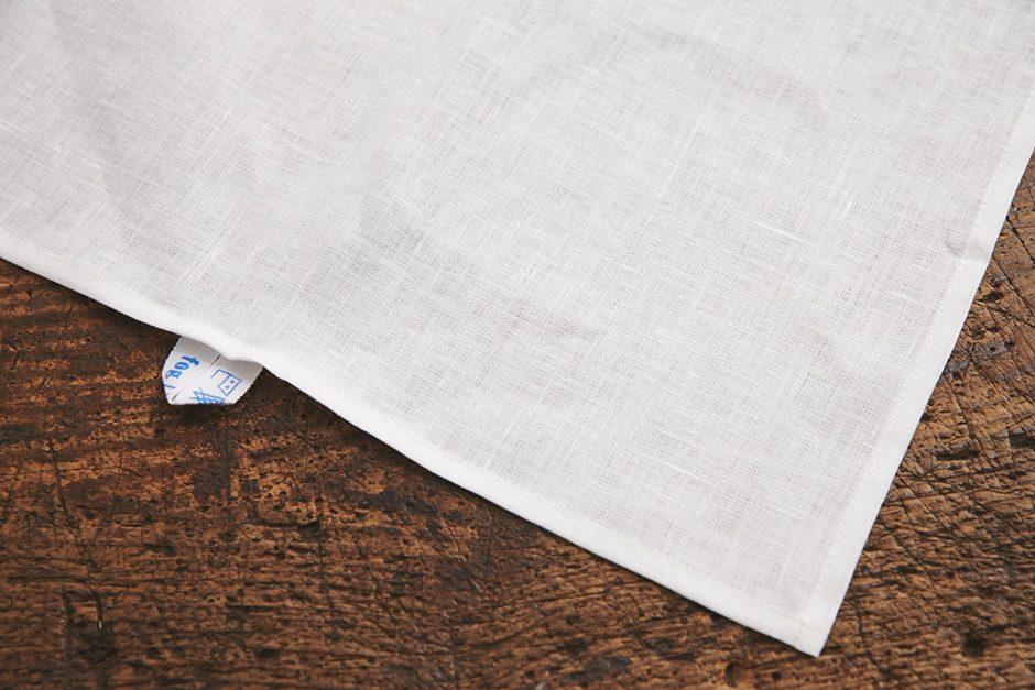 fog linen work リネンキッチンクロス ホワイト