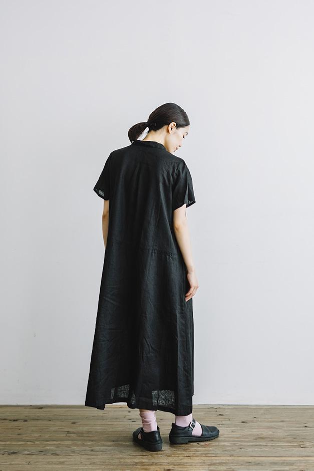 fog linen work マリサ シャツワンピース