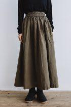 miiThaaii ベルマ ロングギャザースカート 別注カラー