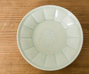 田村文宏 白磁 花弁鉢