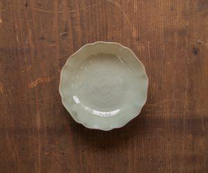安齋新・厚子 青磁なます皿