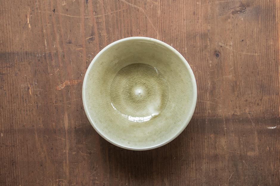 安齋新・厚子 灰釉鉢