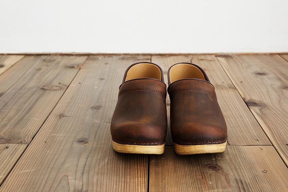 dansko Professional Antique brown 木目ソール