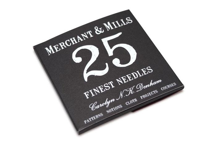 MERCHANT & MILLS FINEST NEEDLES