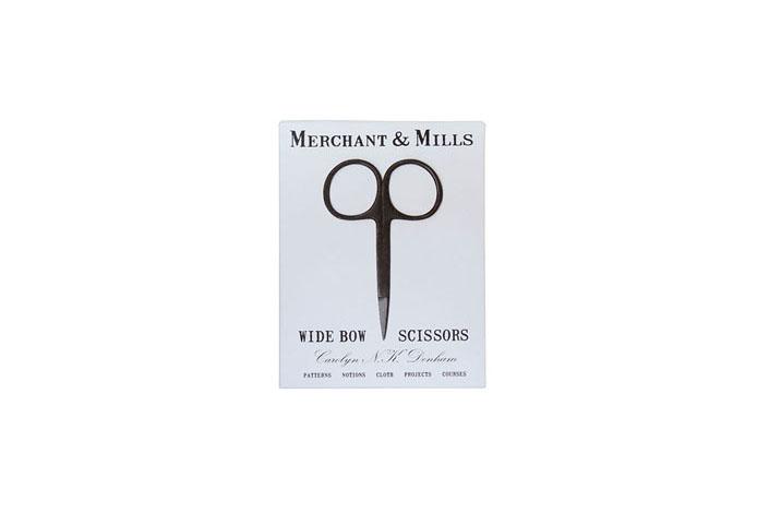 MERCHANT & MILLS WIDE BOW BLACK SCISSORS