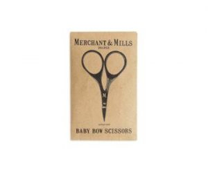 MERCHANT & MILLS BABY BOW BLACK SCISSORS