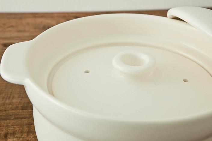 Newマスタークック 炊飯用土鍋 3合炊き(ふた・木栓付)