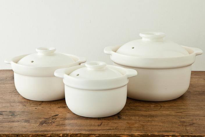 Newマスタークック 炊飯用土鍋 6合炊き(ふた・木栓付)
