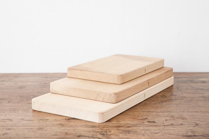 庖丁工房タダフサ 抗菌炭化木 まな板 45cm