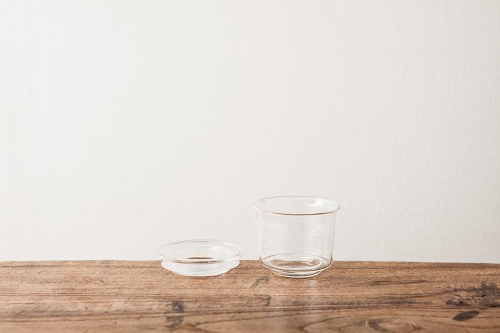 KINTO CAST ガラスキャニスター 浅型(S)