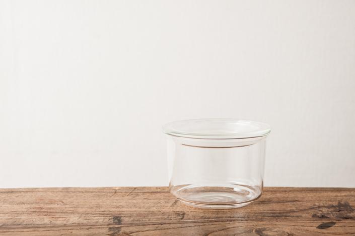 KINTO CAST ガラスキャニスター 浅型(L)