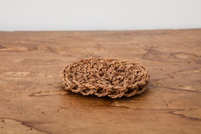 F/style シナの縄の鍋敷き