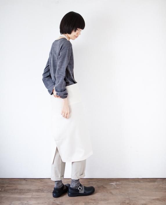 F/style 亀田縞のエプロン 1生成