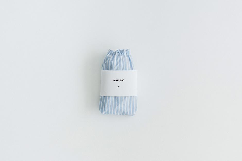 TESHIKI パンツ CANDY WRAP BLUE 90°